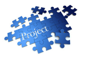Project as jigsaw puzzle